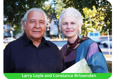 Larry Loyie and Constance Brissenden
